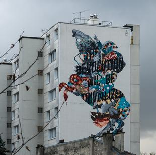 The Revolution will be Trivialized de Tristan Eaton - street art rue du Chevaleret